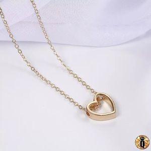 ⚜️[𝟯/$𝟭𝟴]⚜️Gold Minimalist Heart Necklace NEW